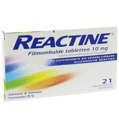 Reactine Anti Histamine 10 Mg Uad (21tb)